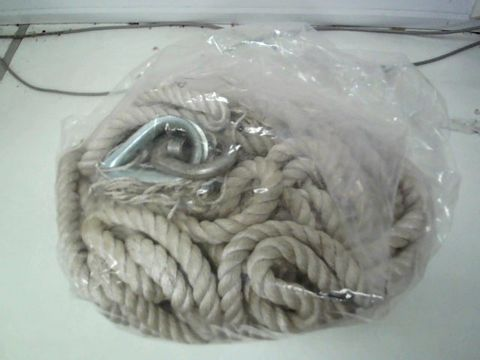 Lot 247 SILVERLINE 865628 GIN WHEEL ROPE WITH HOOK