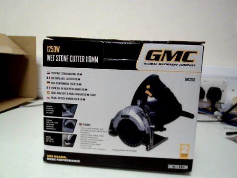 Lot 217 GMC 1250W WET STONE CUTTER 110MM