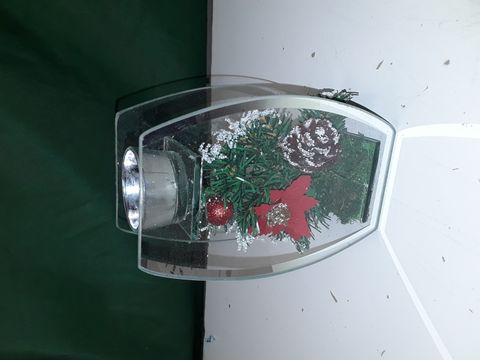 Lot 5119 HOME SWEET HOME MIRROR ROSE CHRISTMAS DECORATION
