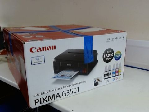 Lot 8516 CANON G3501 HIGH CAPACITY INKJET PRINTER