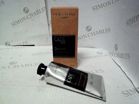 Lot 4409 L'OCITANE HOMME CADE COMFORTING AFTER SHAVE BALM 75ML RRP £45.00