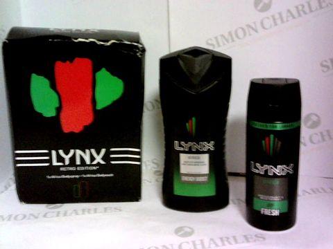 Lot 6033 LYNX RETRO EDITION GIFT BOX