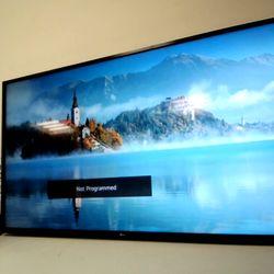 """Lot 12419 LG ULTRA HD SMART THINQ TV 55"""""""