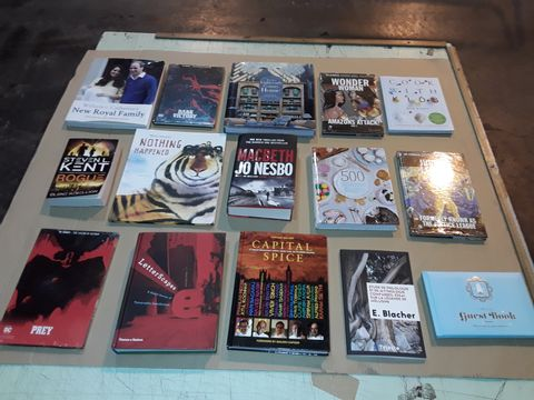 Lot 4061 BOX OF ASSORTED BOOKS
