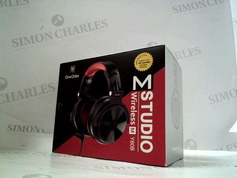 Lot 8232 ONEODIO M STUDIO WIRELESS M Y80B OVER EAR HEADPHONES