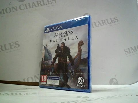 Lot 4071 ASSASSIN'S CREED VALHALLA FOR PS4