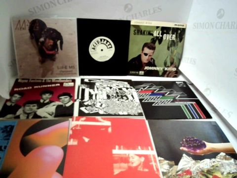 "Lot 3268 LOT OF ASSORTED 7"" VINYL RECORS TO INCLUDE THE CLASH, QUEEN, HARRY STYLES, ETC"
