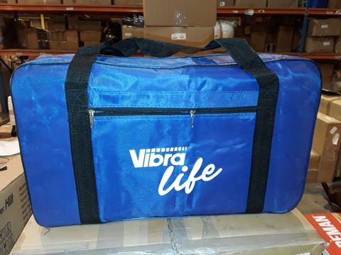 Lot 1057 VIBRAPOWER LIFE EXERCISE MACHINE - BLUE