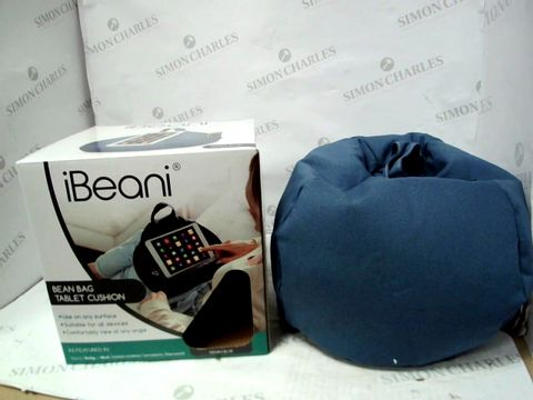 Lot 10319 IBEANI BEAN BAG TABLET CUSHION - BLUE
