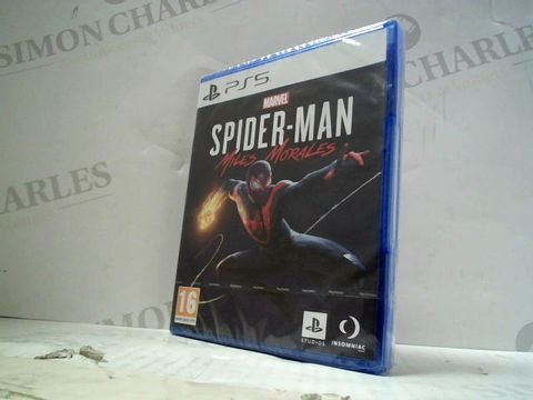 Lot 7 MARVEL SPIDER-MAN MILES MORALES  PLAYSTATION 5 GAME