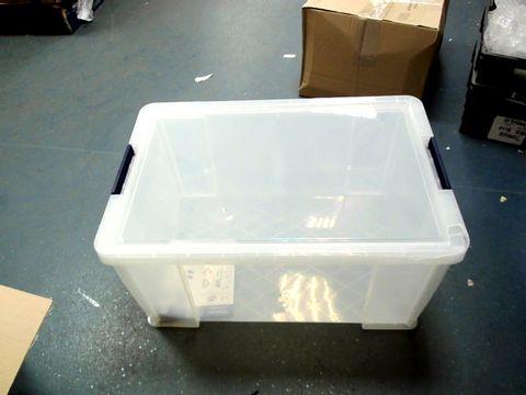 Lot 15179 BANKERS BOX PROSTORE PLASTIC STORAGE BOX - 70 LITRE