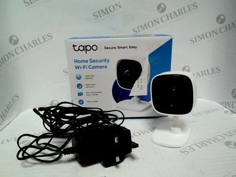 Lot 7491 TAPO HOME SECURITY WI-FI CAMERA