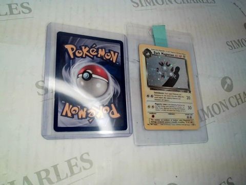 Lot 78 POKEMON TRADING CARD GAME ZAPDOS AND DARK MAGNETON