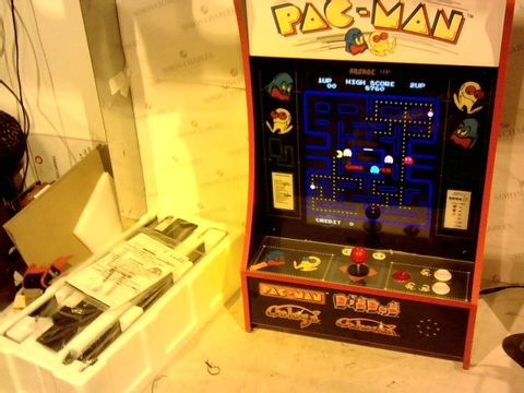 Lot 11123 ARCADE1UP PAC-MAN PARTY-CADE