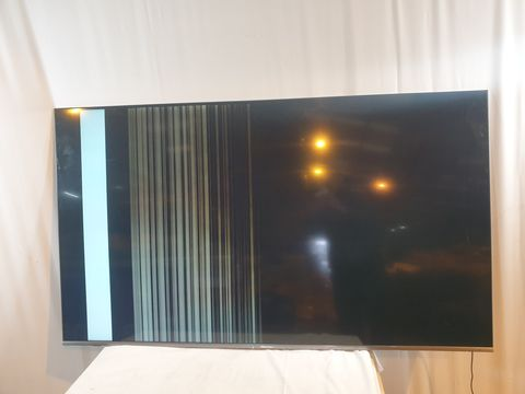 Lot 650 UNBOXED HISENSE H65U7BUK 65 INCH SMART TELEVISION