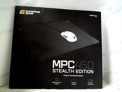 Lot 264 ENDGAME GEAR MPC450 STEALTH EDITION CORDURA GAMING MOUSEPAD