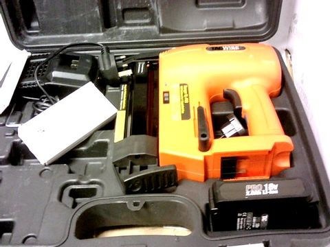 Lot 8106 TACWISE 1506 18V CORDLESS 2 IN 1 STAPLE/NAIL GUN