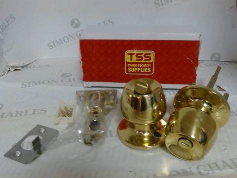 Lot 905 TSS TRADE SECURITY SUPPLIES - BRASS DOOR LOCKS