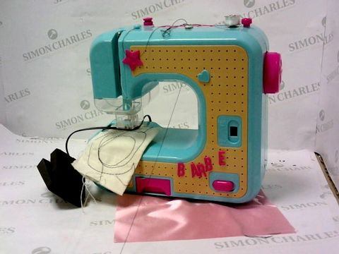Lot 5471 BARBIE SEWING MACHINE SET RRP £37.99
