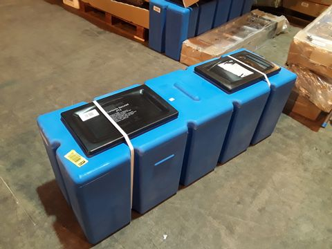Lot 1183 2 X POLYTANK FEED&EXPANSION SYSTEM