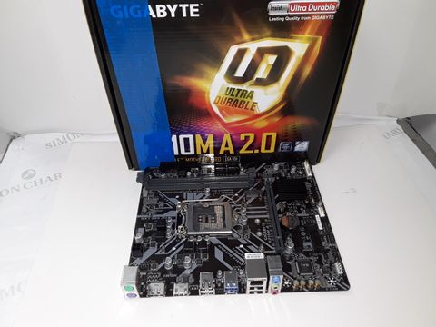 Lot 4307 GIGABYTE H310M A2.0 ULTRA DURABLE MOTHERBOARD