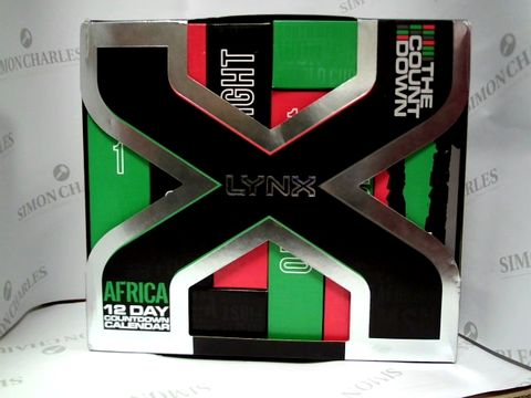 Lot 8034 LYNX AFRICA - 12 DAY ADVENT CALENDER