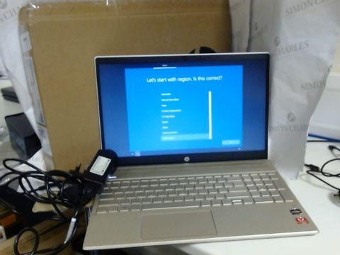 Lot 7714 BOXED HP PAVILION 15-CW0990NA WINDOWS LAPTOP, AMD RYZEN 5 2500U, 8GB DDR4 RAM, 128GB SSD + 1TB HDD