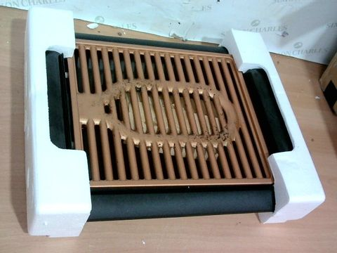 Lot 4059 GOTHAM STEEL COPPER NON-STICK ELECTRIC INDOOR GRILL