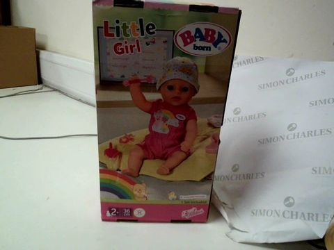 Lot 259 BABY BORN SOFT TOUCH LITTLE GIRL 36cm RRP £44.99