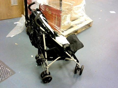 Lot 7250 MY BABIIE MB01 BLACK MARBLE STROLLER RRP £89.99