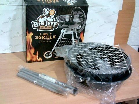 Lot 2229 BIG JEFF BBQ MASTER BBQ GRILL