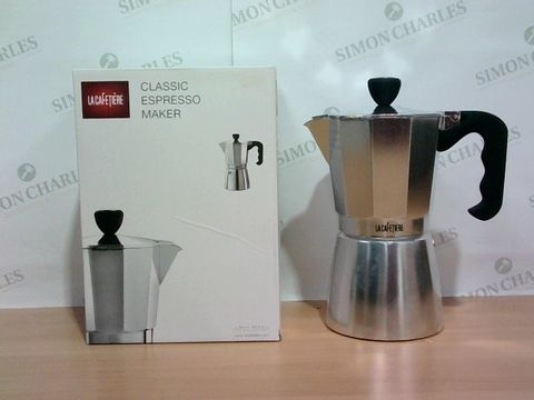 Lot 1370 LA CAFETIERE CLASSIC ESPRESSO MAKER