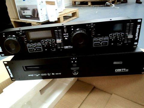 Lot 8407 NUMARK CDN77 PROFESSIONAL USB CD PLAYER