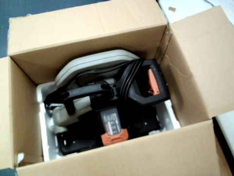Lot 11505 EVOLUTION POWER TOOLS R355CPS MULTI-MATERIAL CHOP SAW
