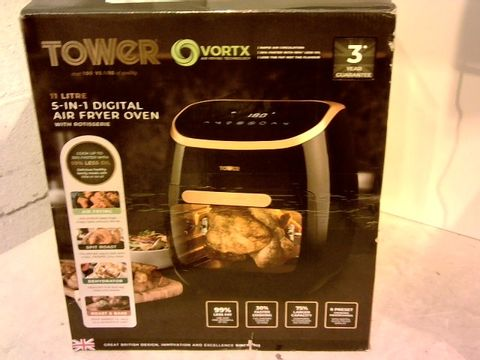 Lot 12082 TOWER  AIR FRYER WITH RAPID AIR CIRCULATION SYSTEM
