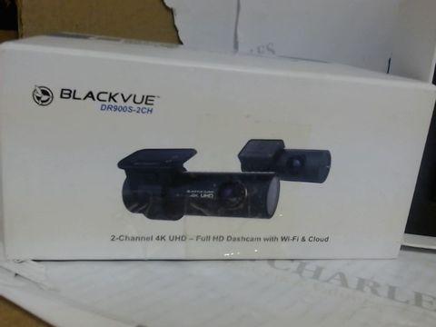 Lot 7561 BLACK VUE 2 CHANNEL 4K UHD DASH CAM WITH WI-FI & CLOUD