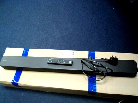 Lot 807 SONY HT-SF150 2CH SINGLE SOUNDBAR WITH BLUETOOTH AND S-FORCE FRONT SURROUND