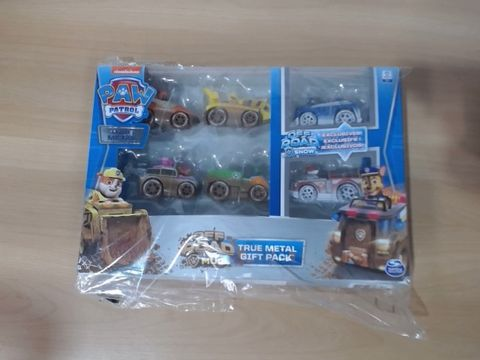 Lot 1074  PAW PATROL TRUE METAL - MULTI-PACK VEHICLE RRP £33.00