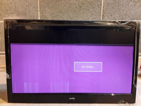 """Lot 162 CELLO 20"""" WIDE SCREEN LED TV WITH DVD PLAYER"""