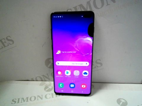 Lot 1021 SAMSUNG GALAXY S10+ 128GB ANDROID SMARTPHONE