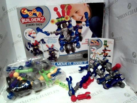 Lot 29 ZOOB BUILDERZ ZOOB BOT