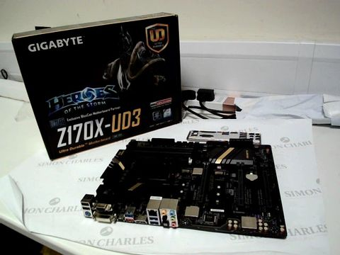 Lot 4713 GIGABYTE Z170X-UD3 GAMING PC MOTHERBOARD