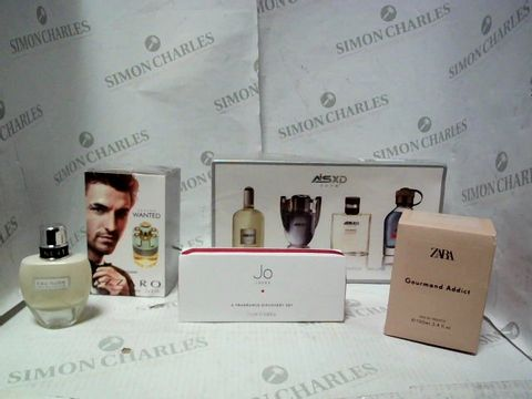 Lot 8216 LOT OF A LARGE QUANTITY OF ASSORTED FRAGRANCE ITEMS, TO INCLUDE ASXD FRAGRANCE SET, ZARA GOURMAN ADDICT, JO LOVES SAMPLE SET, ETC