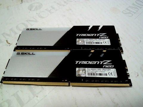 Lot 1221 GSKILLS TRIDENT Z NEO DDR4