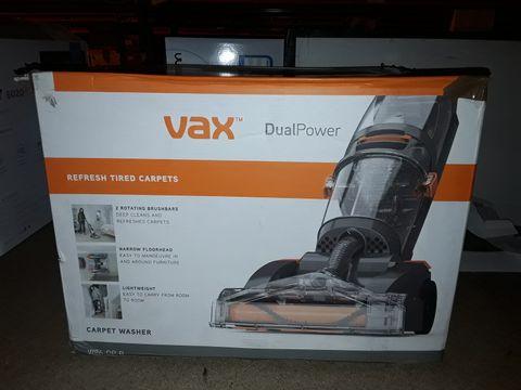 Lot 2434 VAX DUAL POWER CARPET CLEANER, 2.7 LITRE