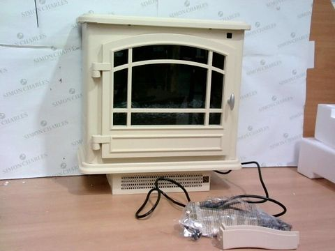 Lot 3384 POWERHEAT INFRARED STOVE HEATER AND REMOTE CONTROL
