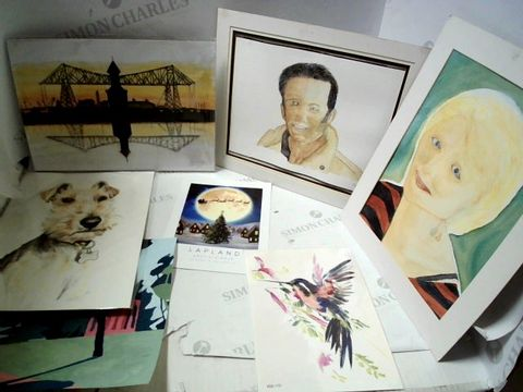 Lot 35 LOT OF APPROXIMATELY 12 ASSORTED POSTERS, PRINTS, ARTWORKS ETC