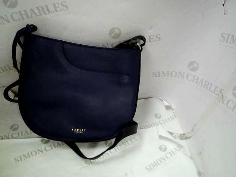 Lot 8314 DESIGNER RADLEY NAVY BLUE SHOULDER BAG