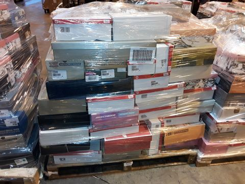 Lot 4007 PALLET OF APPROXIMATELY 111 PAIRS OF ASSORTED SHOES TO INCLUDE: