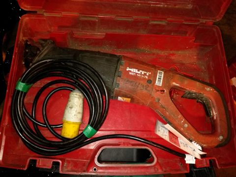 Lot 5 HILTI RECIPROCATING SAW 110V
